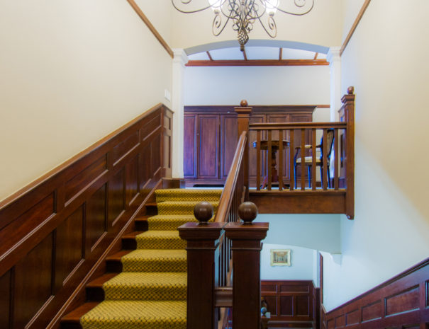 Audacia Manor - Historic Boutique Hotel in Durban Stairwell